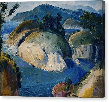 California Headlands Canvas Print by George Bellows