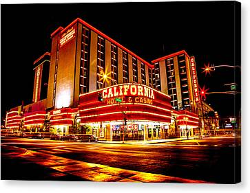 California Hotel Canvas Print by Az Jackson