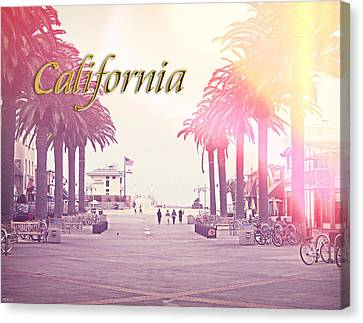 California Canvas Print by Phil Perkins