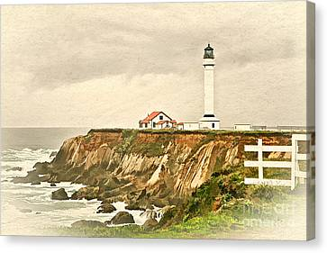 California - Point Arena Lighthouse Canvas Print