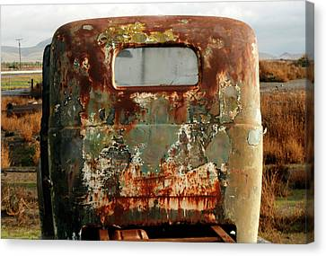 California Rusted Truck Canvas Print