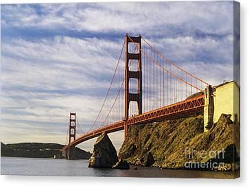 California, San Francisco Canvas Print by Larry Dale Gordon - Printscapes
