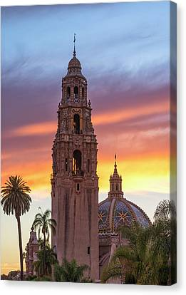 California Sunset #2 Canvas Print