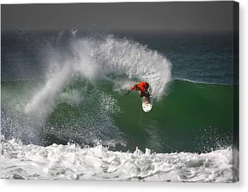 California Surfing 2 Canvas Print by Larry Marshall