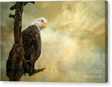 Call Of Honor Canvas Print