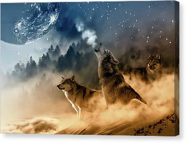 Call Of Nature Canvas Print