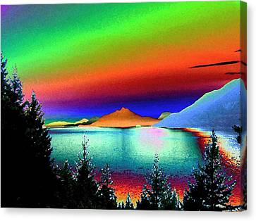 Call Of The Coast 2 Canvas Print by Will Borden