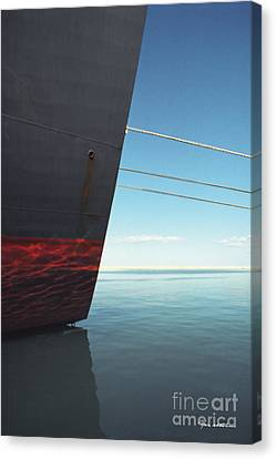 Call Of The Distant Shores Canvas Print by Marc Nader