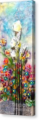 Calla Lily Dance Canvas Print