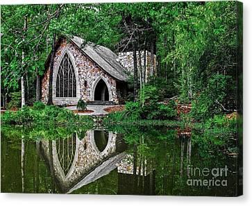 Callaway Gardens Ida Cason Chapel Canvas Print
