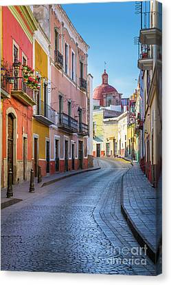 Calle Bonita Canvas Print by Inge Johnsson