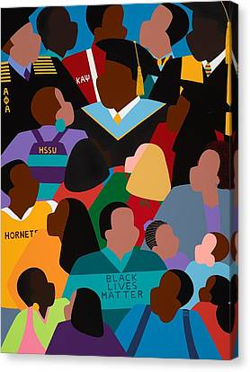 Canvas Print - Called To Serve Inspiring Change by Synthia SAINT JAMES