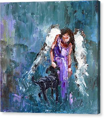 Calling All Angels Canvas Print by Judy Mackey