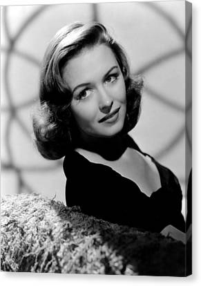 Calling Dr. Gillespie, Donna Reed, 1942 Canvas Print by Everett