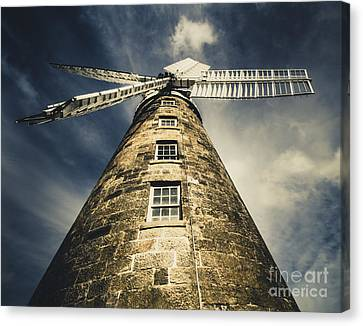 Callington Mill In Oatlands Tasmania Canvas Print by Jorgo Photography - Wall Art Gallery