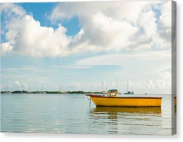 Calm And Peaceful Ocean Canvas Print