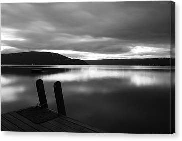 Calm Before The Storm Canvas Print by Steven Ainsworth