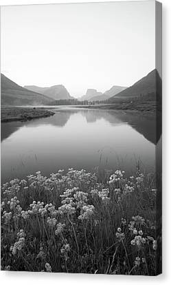 Canvas Print featuring the photograph Calm Morning  by Dustin LeFevre