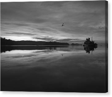 Calm Morning  Canvas Print by Mark Alan Perry