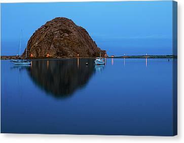 Calm Morning, Morro Bay, California Canvas Print