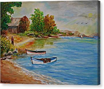 Calm  Autumn Nature Canvas Print