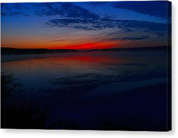 Calm Of Early Morn Canvas Print