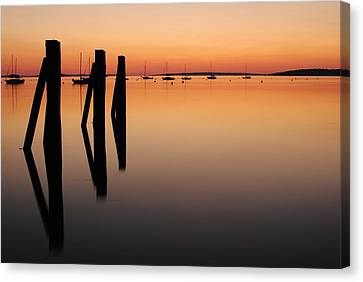 Canvas Print featuring the photograph Calm by Paul Noble