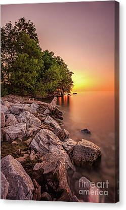 Stopper Canvas Print - Calm Rising by Andrew Slater