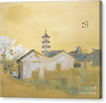 Calm Spring In Jiangnan Canvas Print