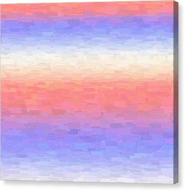 Calm Strokes Canvas Print