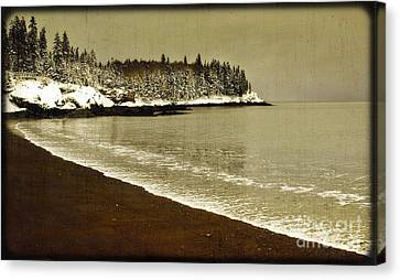 Calm Waters Canvas Print by Alana Ranney