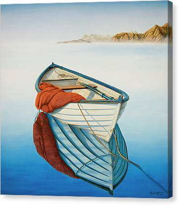 Calm Waters Canvas Print by Horacio Cardozo