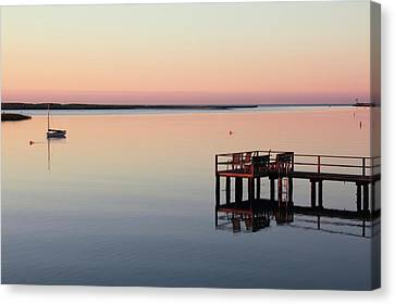 Calm Waters Canvas Print by Roupen  Baker