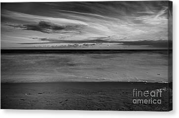 Canvas Print featuring the photograph Calming Seas by Linda Lees