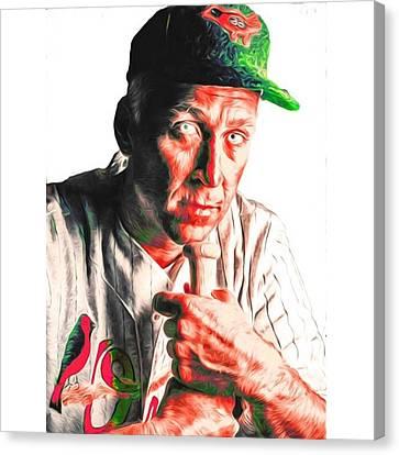 Sports Canvas Print - #calripken #baltimoreorioles #baltimore by David Haskett