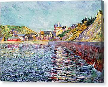 Signac Canvas Print - Calvados by Paul Signac