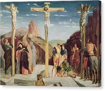 Calvary Canvas Print by Andrea Mantegna