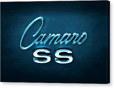 Camaro S S Emblem Canvas Print
