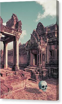 Cambodian Blue Canvas Print by Joseph Westrupp