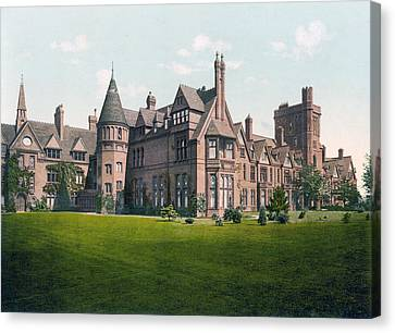Cambridge - England - Girton College Canvas Print by International  Images