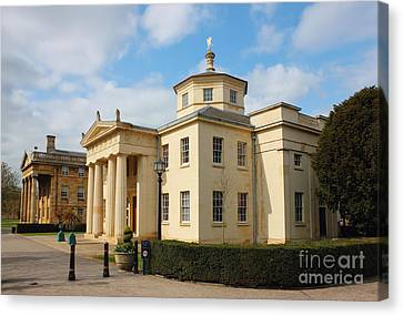Cambridge Downing College Canvas Print by Kiril Stanchev