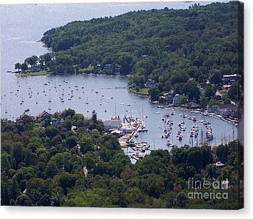 Camden Maine Canvas Print by Ursula Lawrence