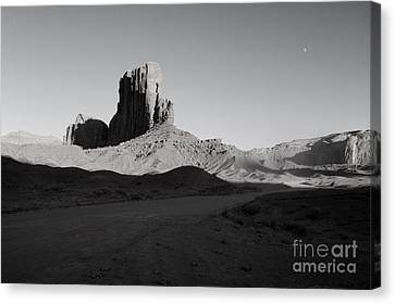 Camel Butte In Monument Valley Utah Canvas Print by Julia Hiebaum