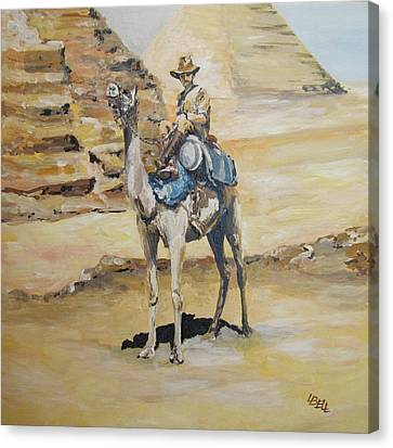 Camel Corp At Ease Canvas Print by Leonie Bell
