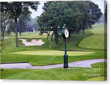 Camel Sand Trap In Medinah Canvas Print