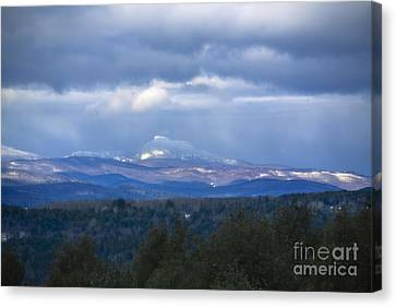 Camel's Hump Mountain  Canvas Print by Diane Diederich