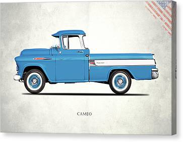 Cameo Pickup 1957 Canvas Print by Mark Rogan