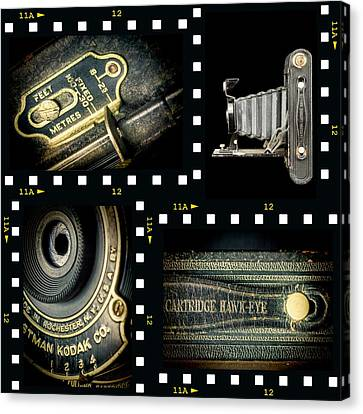 Camera Collage-2 Canvas Print by Rudy Umans