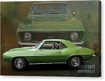 Camero Canvas Print by Jim  Hatch