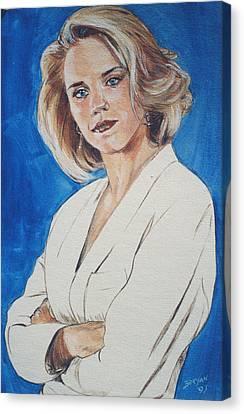 Cami Cooper Canvas Print by Bryan Bustard